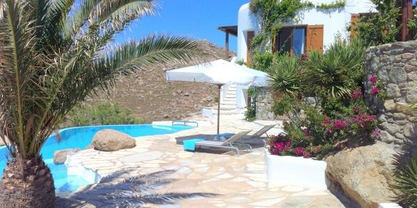 Villa Nafsika for rent in Mykonos