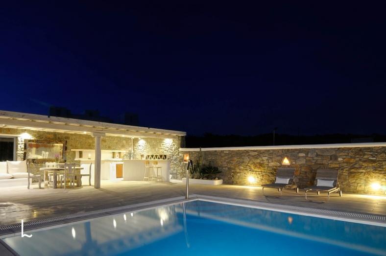 Villa Alkyone for rent in Mykonos