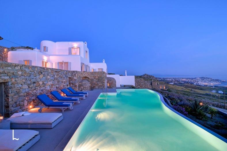 Villa Lyda for rent in Mykonos