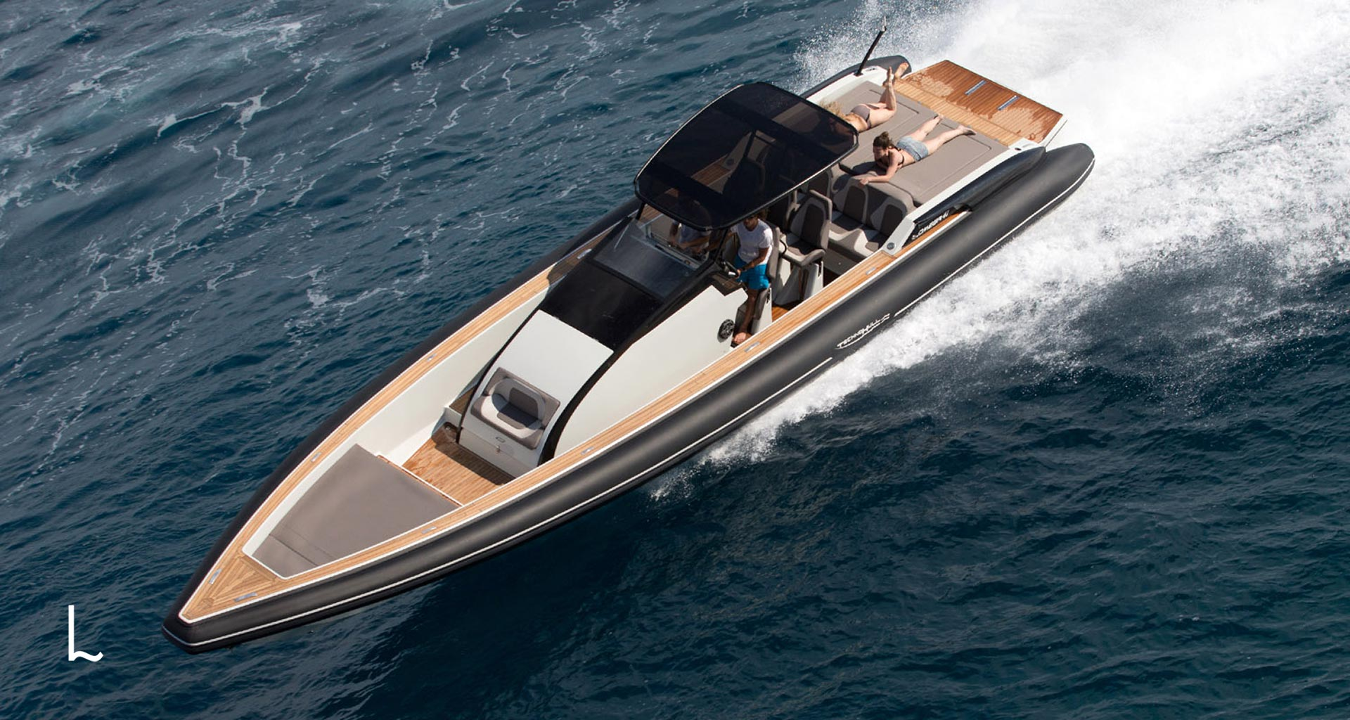Infatable rib Omega is available for charter