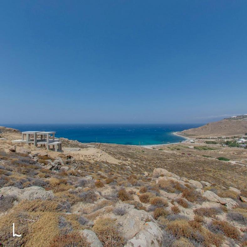 Plot at Choulakia in Mykonos, Greece - 4000 m2