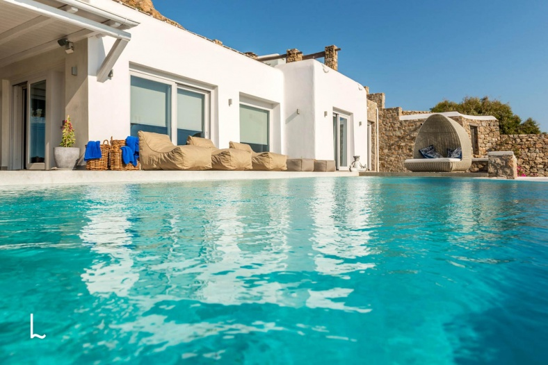 Villa Thetis for rent in Mykonos