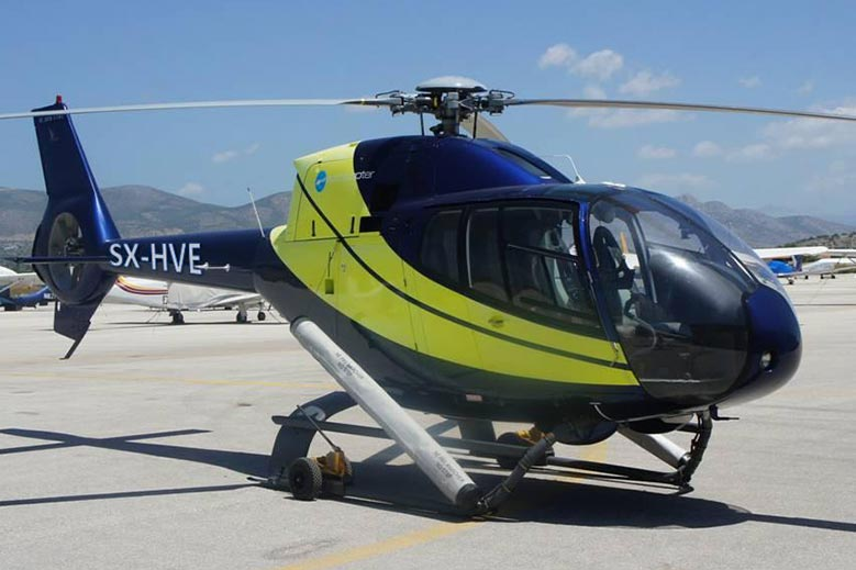 Private Helicopter Charters in Greece, Mykonos, Athens