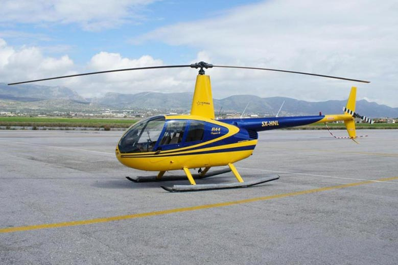 Private Helicopter Flights in Greece