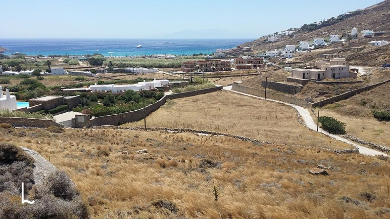 Plot for Sale at Kalo Livadi in Mykonos, Greece - 6500 m2
