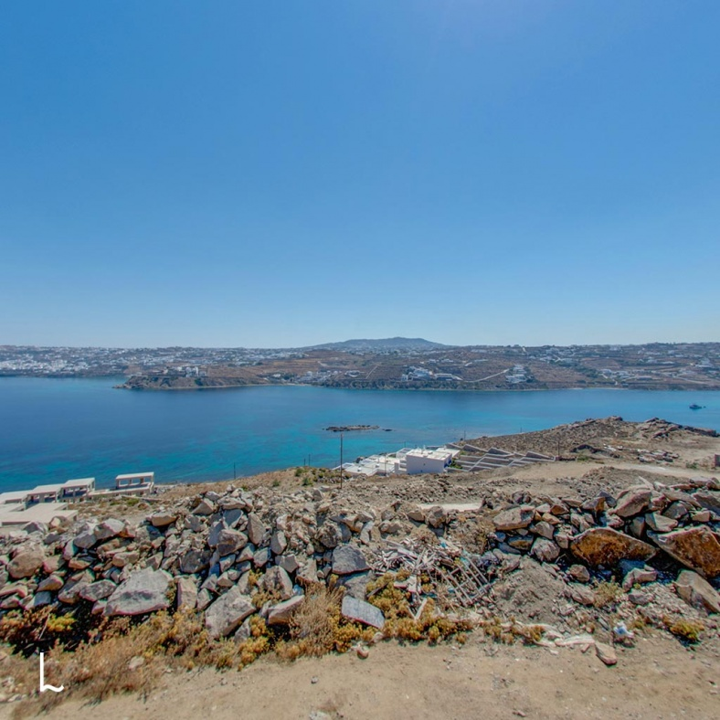 Plot for Sale at Kanalia in Mykonos, Greece - 2000 m2