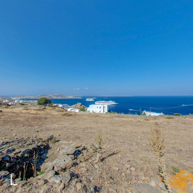 Land for Sale at Agia Sofia in Mykonos, Greece - 4000 m2