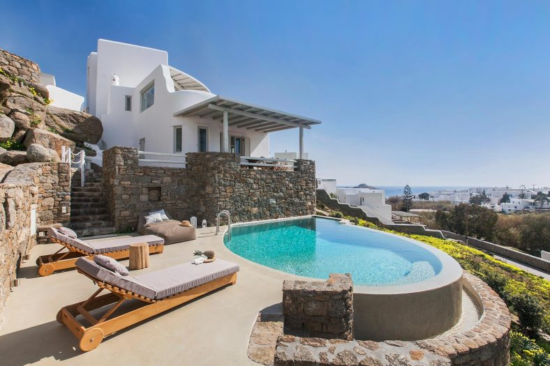 Villa Mirini for rent in Mykonos