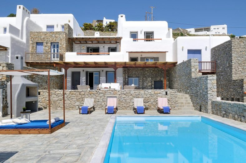 Villa Poseidon for rent in Mykonos